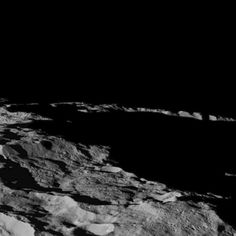 This part of Ceres, near the south pole, has such long shadows because, from the perspective of this location, the sun is near the horizon. At the time When Dawn took this image on December 10, 2015 the sun was 4 degrees north of the equator. If you were standing this close to Ceres' south pole, the sun would never get high in the sky during the course of a nine-hour Cerean day. Image credit: NASA/JPL-Caltech/UCLA/MPS/DLR/IDA