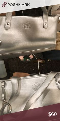 silver purse ruth lauren Polo by Ralph Lauren Bags Shoulder Bags