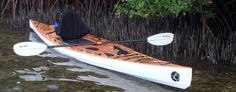 The F1430 is a unique sit-on-top stitch and glue kayak. Combining stunning classic looks with modern wood-epoxy construction, this kayak will easily weight in at less than half of your typical roto-moulded fishing yak; And as we're alrea [...]