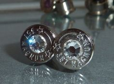 Bullet Earrings  -cute!!!