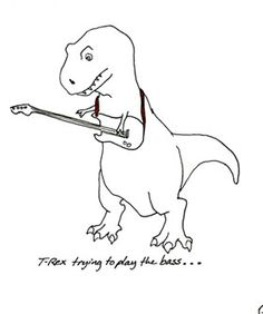 Daily Diversion: T-Rex Tries Things, Fails