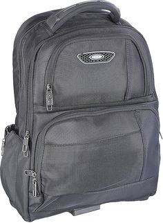 Buy Abacus 8704 Double Chamber Black Laptop Bag - 17 inches from Amazon.
