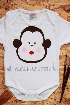 Room Room Bebé: de sorteo. Un body tan mono como éste para tu bebé. De quemonada.net
