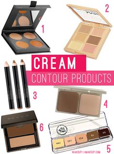 Best cream contour products to highlight and contour on any budget! If you're contouring with cream, here's you best bets!