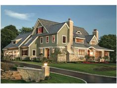 Eplans Shingle House Plan - Modern Shingle Style - 4610 Square Feet and 4 Bedrooms from Eplans - House Plan Code HWEPL64902