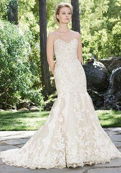 Casablanca Bridal 2254 Daphne Mermaid Wedding Dress