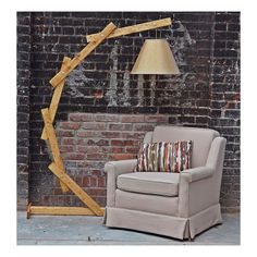 Make your own giant anglepoise lamp diy pinterest anglepoise natural wood floor lamp arc floor lamp floor lighting natural light wood natural wood lamp handmade lamp accent floor lamp aloadofball Image collections