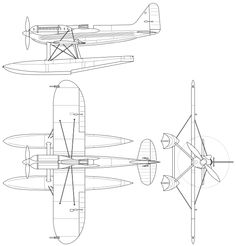 File:Supermarine S-6B.svg