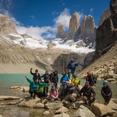 Just another day together at the towers' base - Pic : @timothydhalleine #Mountains #Patagonia #Travel #Traveltheworld #Traveldaily #Sky #Clouds #Hiking #Landscape #Traveldaily #Wanderlust #Patagonia #Chile #TorresdelPaine