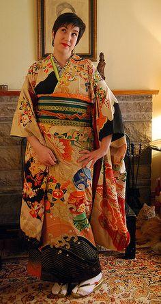 1ee63905d2d Kimonos for larger frame women Kimono Tutorial
