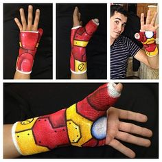 Iron Man Cast | Community Post: 21 Geeky Projects Fit For A Superhero