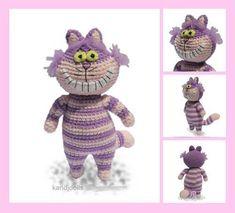 Disney's Alice in Wonderland Cheshire Cat amigurumi