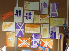 Playfully Learning: Tape and Paint on the Easel-Resist Painting