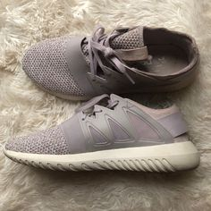 the latest 9ef87 714df adidas Shoes   Womens Adidas Tubular Viral Shoes   Color  Purple White    Size