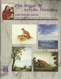 Magic Of Acrylic Painting With Brenda Harris