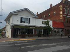 Gibson's Restaurants, Garage Doors, Outdoor Decor, Home Decor, Decoration Home, Room Decor, Restaurant, Home Interior Design, Carriage Doors