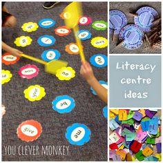 Literacy Centre Ideas