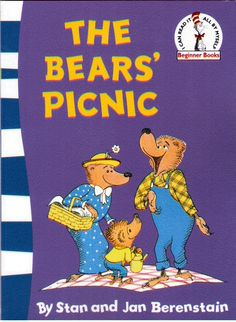 The Berenstain Bears - The Bear's Picnic by Stan and Jan Berenstain NEW