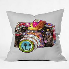 DENY Designs Bianca Green Picture This Decorative Pillow
