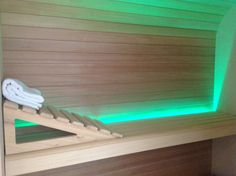 Sauna con cromoterapia