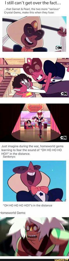 HAHAHHA PLEASE Steven universe, sardonyx, fusion