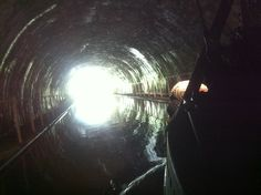 Emerging into the light from Newbold Tunnel