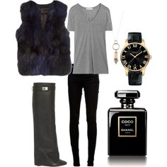 "I Adorn U rose gold bullet with fox necklace! ""Black Love"" by fannynilstoft on Polyvore"