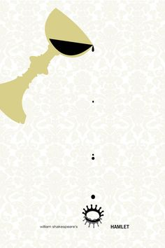 Great minimalist Hamlet graphic