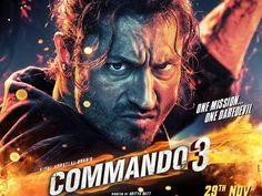 Commando 3 Official Trailer, Release Date, Cast And Summary Hindi Movies Online Free, Movies To Watch Online, Music Download, Hindi Bollywood Movies, Bollywood Images, Bollywood Movie Trailer, Latina, Films Hd, Poster