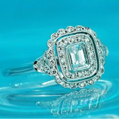 Enchanting Engagement Rings. Tarn-X Jewelry Cleaner will keep those diamonds in great condition and always sparkling!