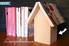 sonnengedanken: DIY: Lesezeichenhaus