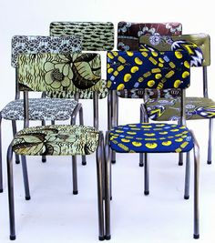 New at Vamp! Schwe Schwe covered chairs - 19 November 2013