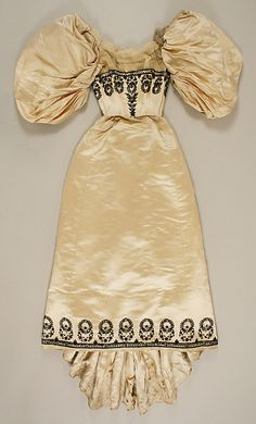 1894 House of Worth dress