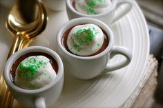 Always Order Dessert: Dark Chocolate Guinness Pots de Creme (No bake recipe) -- Food Blog and Recipes
