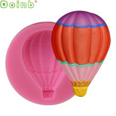 Aliexpress.com : Buy Air Balloon Silicone Fondant Mold Sugar Craft Cake Decorating Tools Gum Paste Fondant Chocolate Candy Moulds from Reliable candy moulds suppliers on Doinb Company Store Hot Air Balloon, Balloon Party, Cupcake Soap, Chocolate Candy Molds, Chocolate Decorations, Cake Decorating Tools, Sugar Craft, Cake Mold, Gum Paste