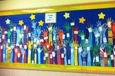 hands reach for the stars - fællesbillede måske til døren