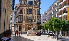 Palacio de Mora Claros, Huelva.  #deRutaporHuelva