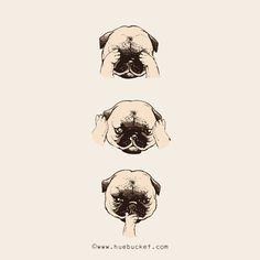 Pug Life by huebucket