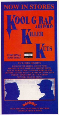 Kool G Rap & DJ Polo Classic duo Kool G Rap, Rikers Island, Polo Classic, Men Street, Dj, Hip Hop, Hiphop