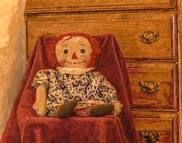 She had a Raggedy Ann doll some where in her house....always.