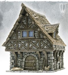 medieval town house - Google Search