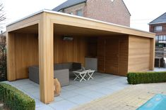 Diy Gazebo, Backyard Gazebo, Patio Canopy, Backyard Patio Designs, Pergola Patio, House Fence Design, Pool House Designs, Outdoor Garden Bar, Garden Seating