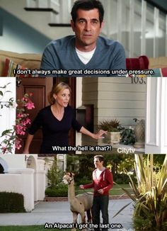 modern fam. Phil Dumphy! I so can relate!