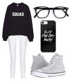 """""""Squad"""" by fangirlmendes on Polyvore featuring 10 Crosby Derek Lam and Converse"""