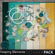 keeping memories, great collection, for every occasion.  Also available Keeping Memories pockets. Great for pocket scrap