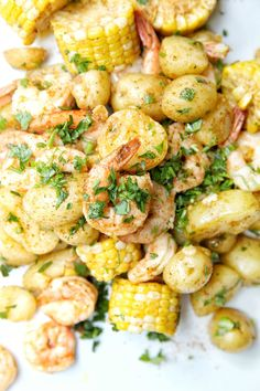 Quick and Easy Healthy Dinner Recipes - Stovetop Shrimp Boil - Awesome Recipes For Weight Loss - Great Receipes For One For Two or For Family Gatherings - Quick Recipes for When You're On A Budget - Chicken and Zucchini Dishes Under 500 Calories - Quick Easy Summer Dinners, Easy Healthy Dinners, Easy Healthy Recipes, Quick Recipes, Weeknight Dinners, Cheap Recipes, Summer Recipes, Budget Recipes, Healthy Snacks