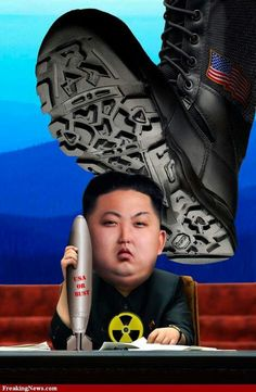 Stomping on North Korea