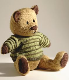 Knitted Toys: 20 Cute and Colourful Projects - Jacob the Bear 2 of 5 (pg 10 of 13)