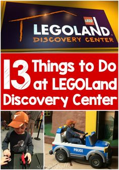 LEGOLand Discovery Centers are great fun for little LEGO lovers. if you have one in your area or are planning a trip, don't miss these 13 Things to Do at LEGOLand Discovery Center!