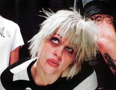 (Source : my-pink-hymen) Brody Dalle, The Distillers, Hymen, Cool Bands, Musicians, Ears, Pink, Image, Music Artists